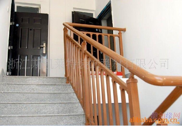 仿木钢结构楼梯栏杆
