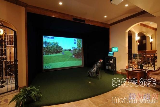 湖北高尔夫模拟器,模拟高尔夫,室内高尔夫,美林高尔