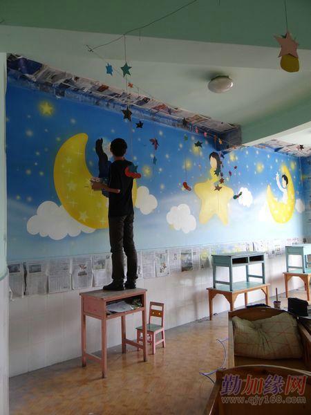 家庭装饰壁画墙体彩绘(手绘电视沙发背景墙,手绘天顶壁画,走廊玄关