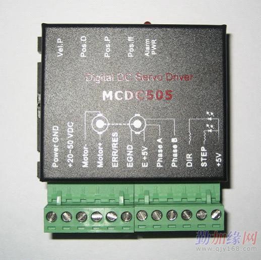 八,接线图        直流伺服系统的典型接线图如下:        本驱动器