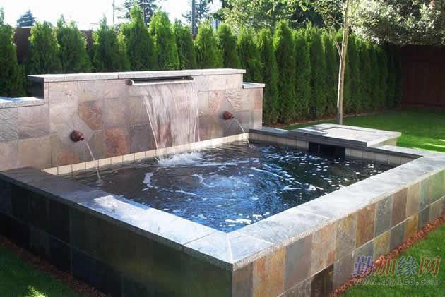 鱼池过滤系统设计施工 鱼池设计建造观赏鱼池过滤系统