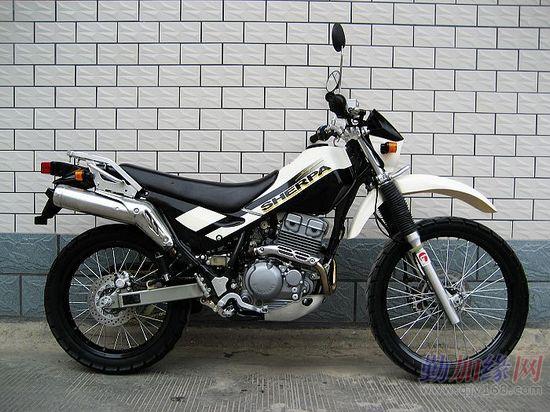 川崎kl250h西藏人摩托车