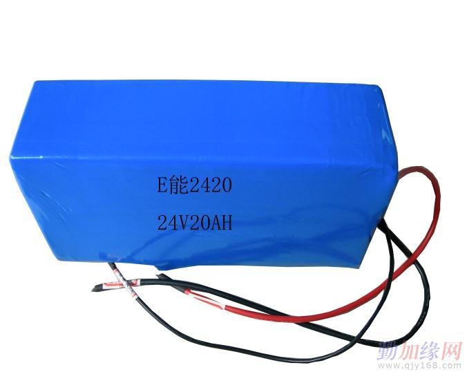 24v 20安时 聚合物锂电池 动力电池图片