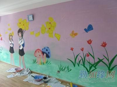 供应,上海手绘墙体广告,墙体彩绘