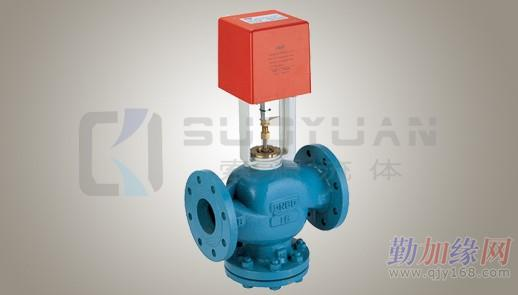 电动二通平衡阀工作原理 压差控制器dpc-1通过检测供/回水主管的压力图片