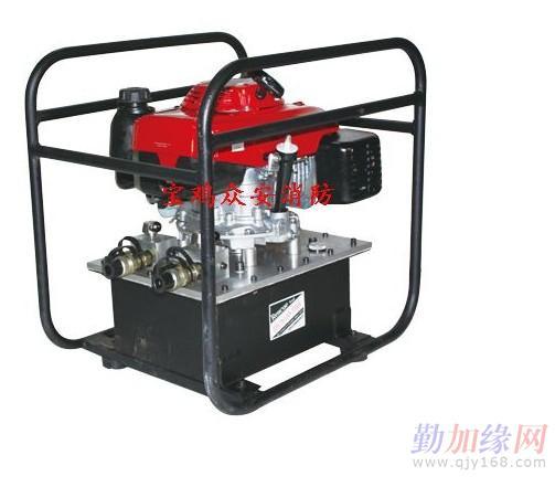 液压双级救援顶杆与机动泵或手动泵配套使用,可实现小空间连续强力撑图片