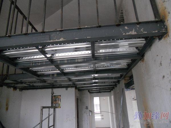 北京大兴挑高户型钢结构阁楼制作商铺二层搭建