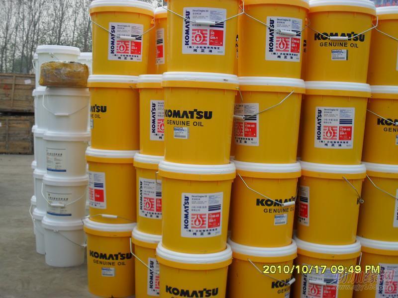 小松挖掘机纯正机油,液压油图片