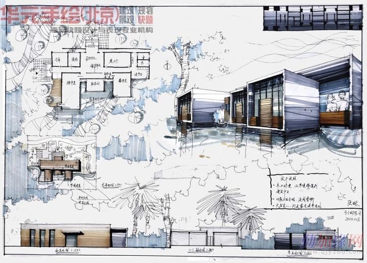 【黑龙江手绘培训】 黑龙江最好的手绘培训 黑龙江建筑手绘培训