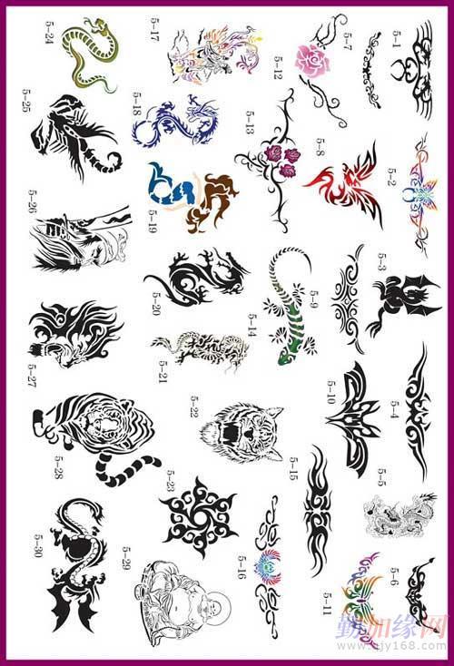 金凤凰喷绘纹身机 纹身电源 纹身套装图片
