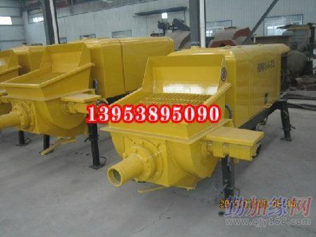 福建屏南煤矿基础建设用防爆混凝土泵