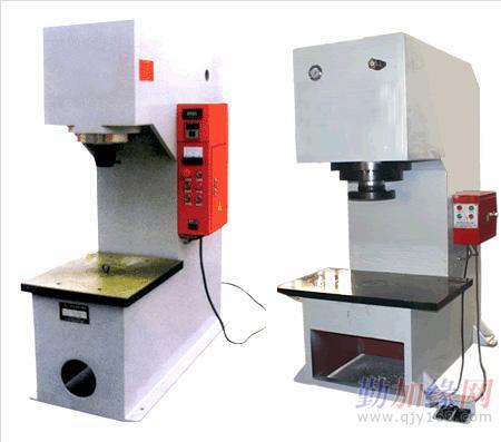 根据客户生产需求生产各种规格型号200吨单臂压力机,各种吨位液压机