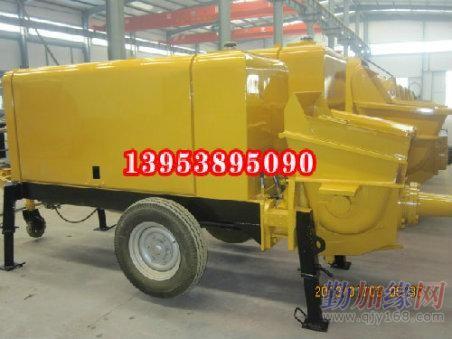 打隧道二衬的小型混凝土输送泵各种型号及价位分别是多少?