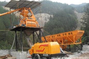 河东煤田矿用混凝土泵可以输送砂浆、细石及大骨料混凝土