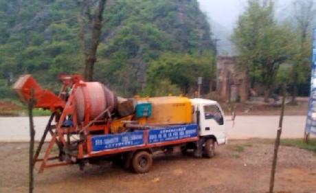 水利隧道用混凝土输送泵 每小时10-80方不等