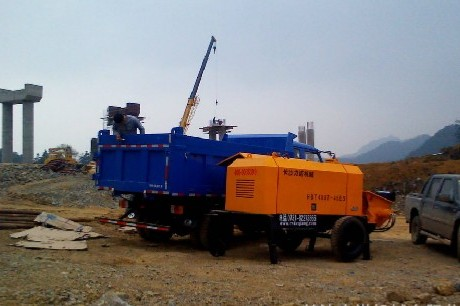 晋城各种类型矿用混凝土泵