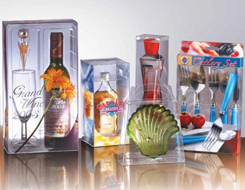 透明酒瓶包装盒