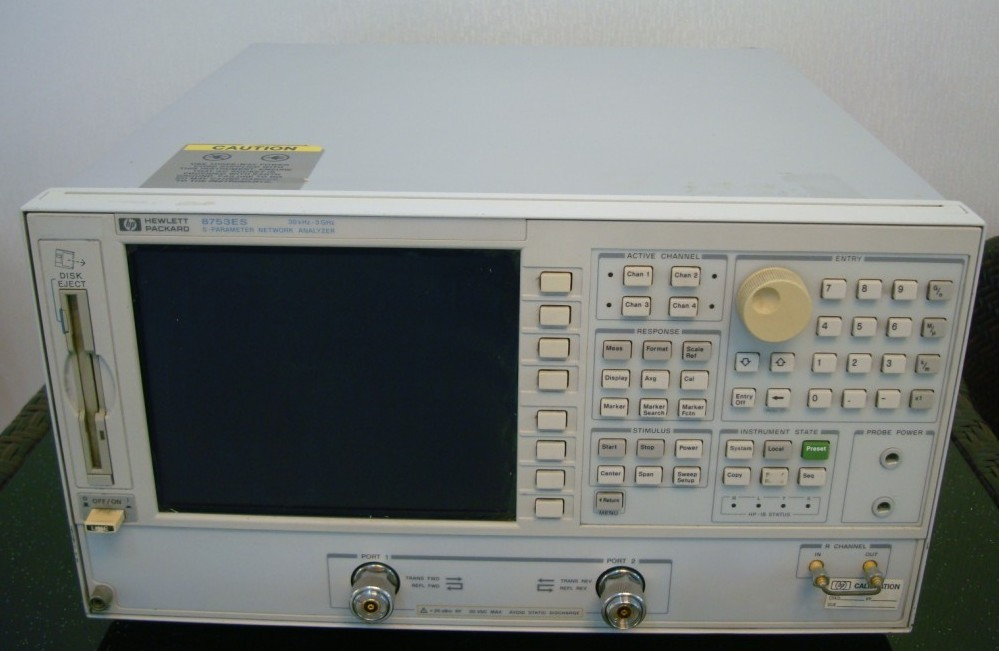 仪和8753et射频网络分析仪为满足研制实验室或生产制造的  测试需求