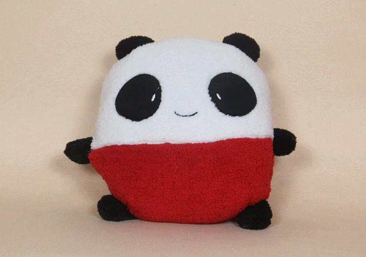 扬州毛绒玩具抱枕可爱动物手捂靠垫