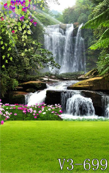 壁纸 风景 旅游 瀑布 山水 桌面 440_700 竖版 竖屏 手机