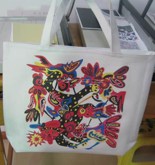 郑州帆布包印制手绘图案/印字印标