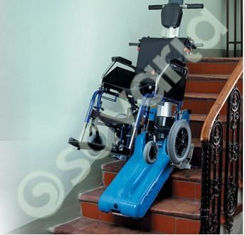 萨瓦瑞亚 电动轮椅爬楼车 无障碍爬楼车 电动爬楼车