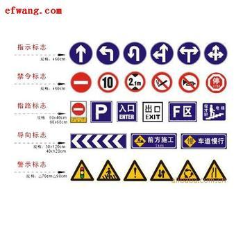 道路/高速公路标志牌名称和规格:人行横道标志牌800x800x2.