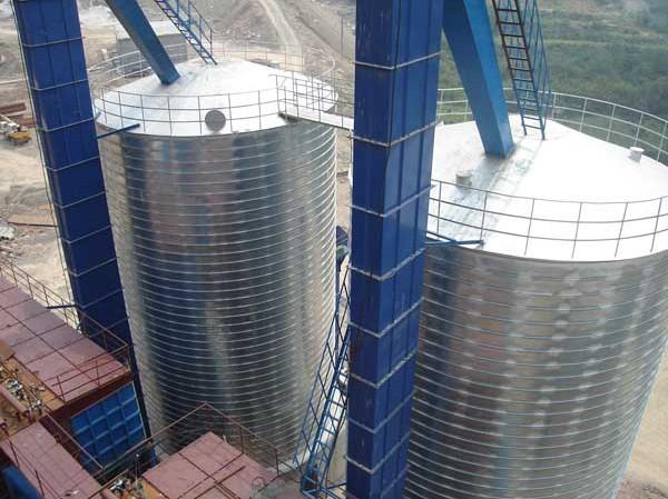 钢板仓生产厂家|钢板仓厂家图片