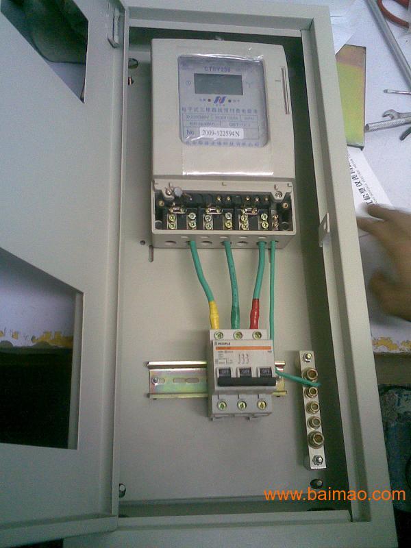 两相电表实物接线图