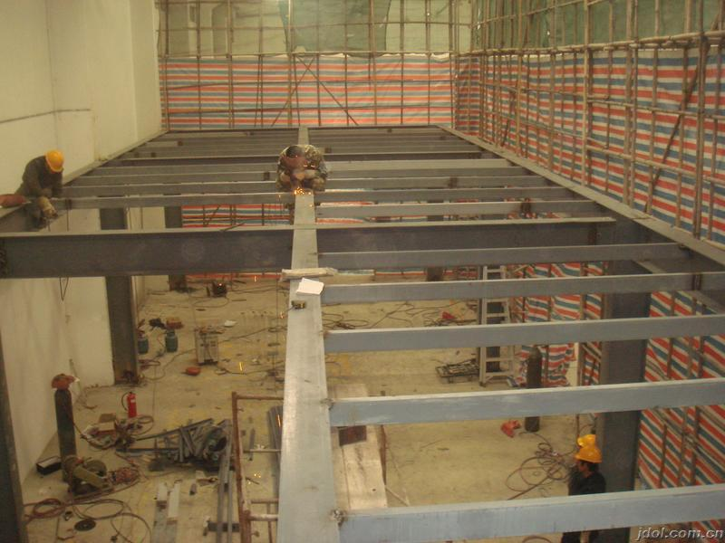 北京昌平区专业做室内隔层复式跃式二层钢结构阁楼搭建底商加层
