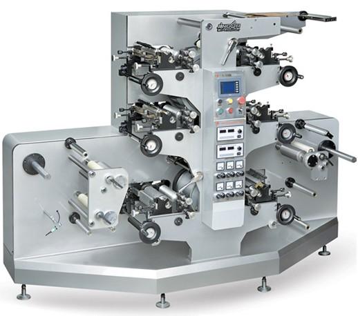 商标印刷机_景大jr-242柔版商标印刷机