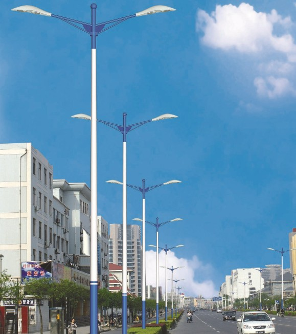 湖北武汉仙桃led太阳能路灯灯杆价格h图片