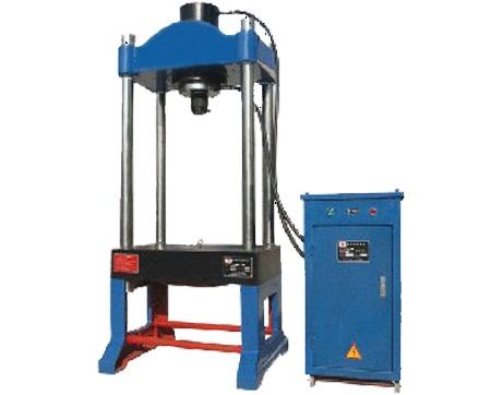 ym-100t两梁四柱液压机参数图片