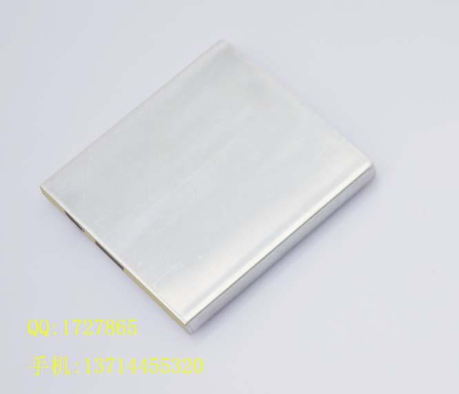 654070al铝壳电芯2000mah