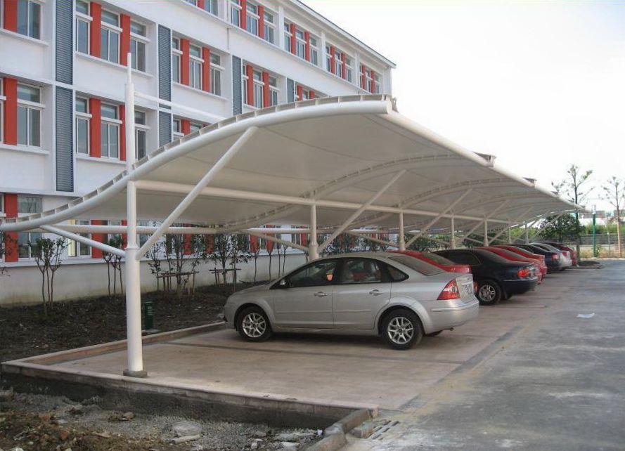 盐城 汽车棚 膜结构车棚 顶棚 站台