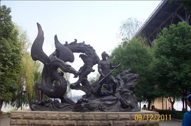 郴州景观泡沫雕塑,景观不锈钢雕塑,永州动物景观雕塑