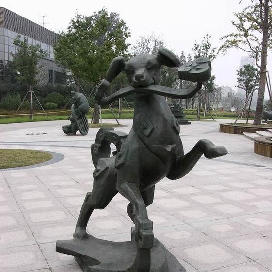 湖南景观泡沫雕塑,景观不锈钢雕塑,长沙动物景观雕塑