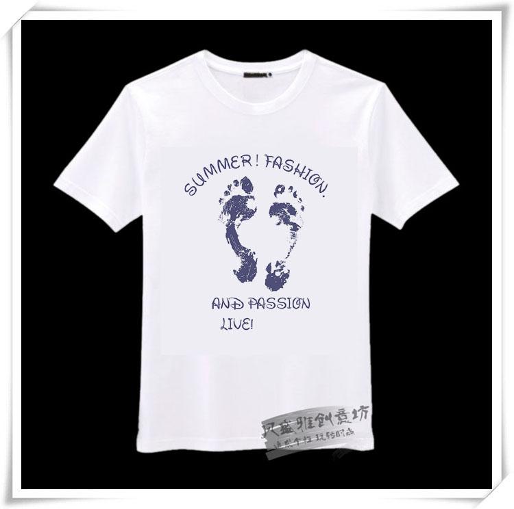 西安个性t恤,创意情侣t恤,个性图案t恤,文化衫来图定制