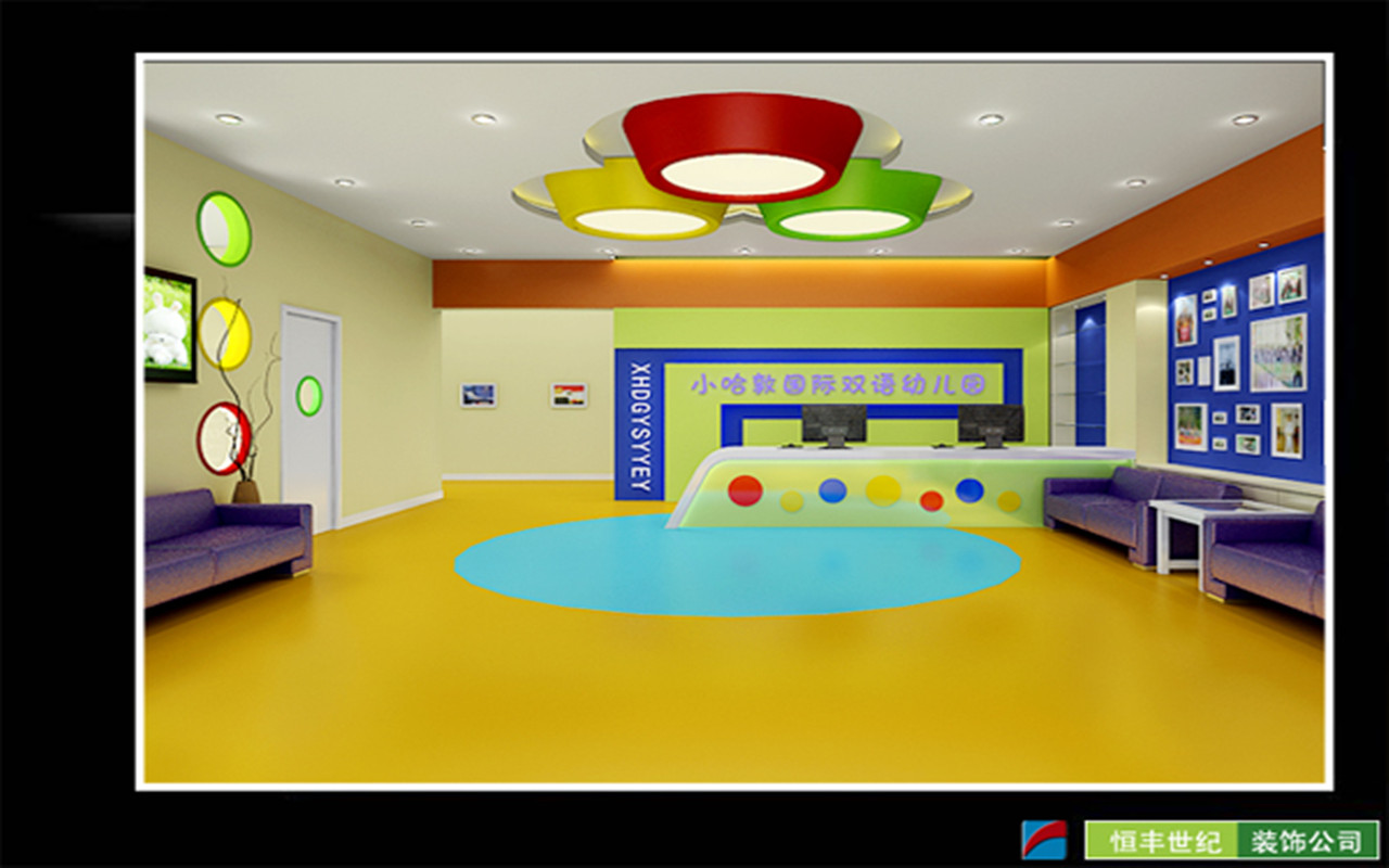 培训机构室内装修图片