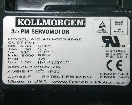 Kollmorgen科尔摩根伺服电动机R、S系列嘉兴维修