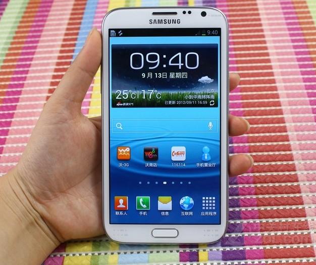 三星n7102图片 n7102手机功能演示图 n7102图