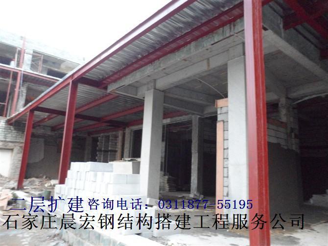 石家庄钢结构别墅制作钢结构商铺隔层制作