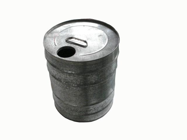 圆柱铁桶卡通图片