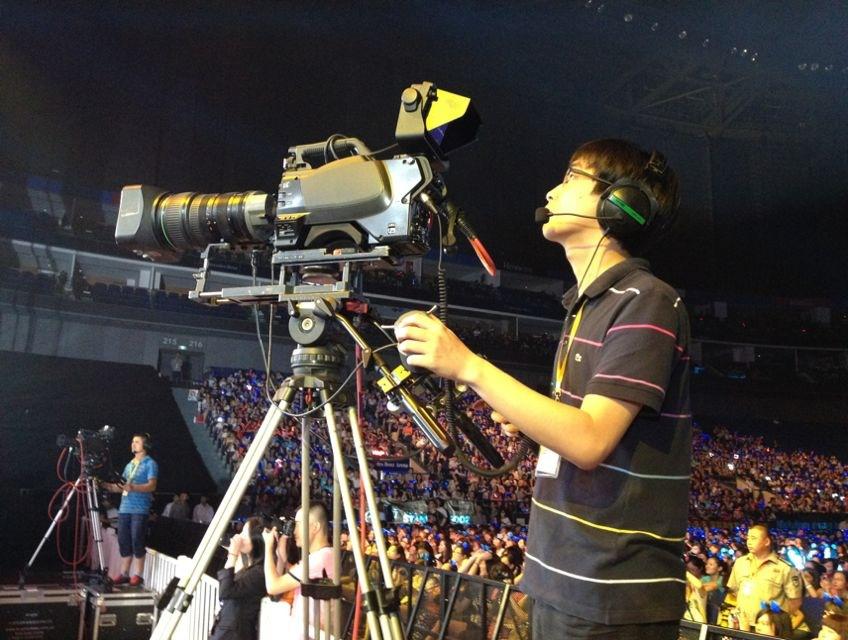 福州运动会拍摄影像制作后期刻盘录像拍照片
