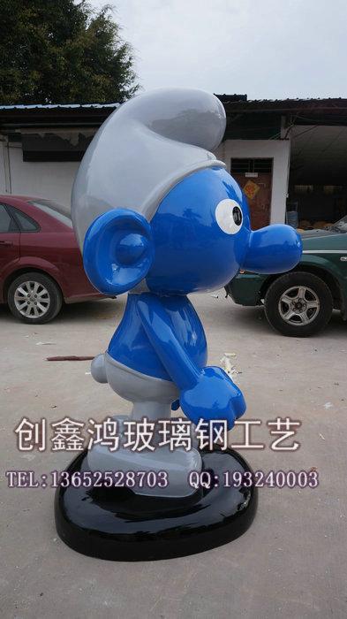 唐老鸭梦幻城堡迪士尼乐园形象公仔摆件 玻璃钢雕塑制品