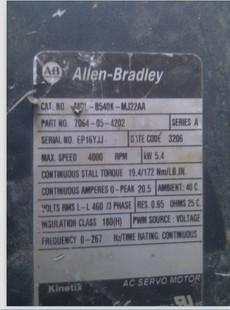 Allen-Bradley伺服电机MPM济南青岛淄博维修销售