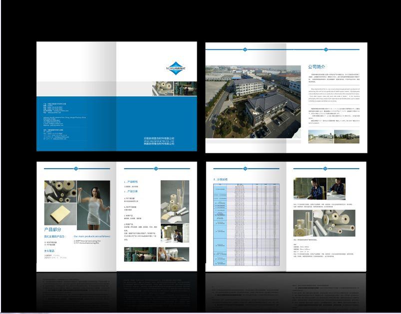 企业样本,宣传册,彩页,宣传单,名片等设计制作图片