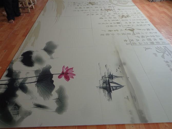 木板黑白简单手绘图