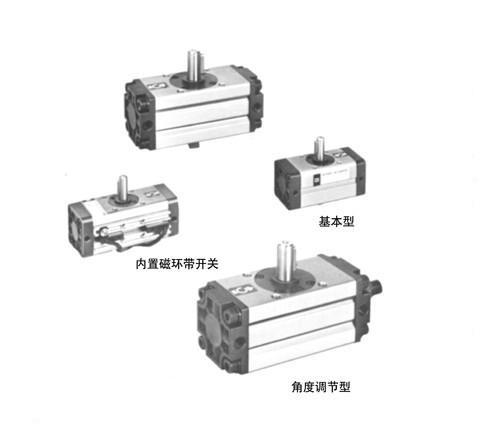 cdra1bw50-90齿轮齿条式摆动气缸图片