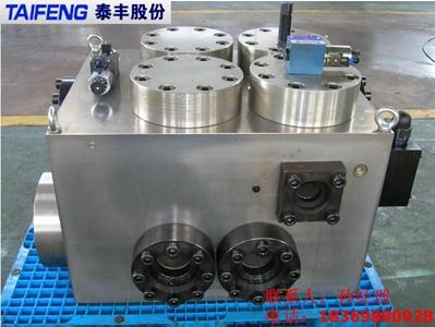 8-20)液压缸(40t-1200t液压折弯机主油缸及充液阀2.图片